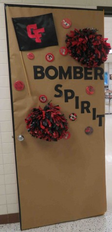 Homecoming door contest