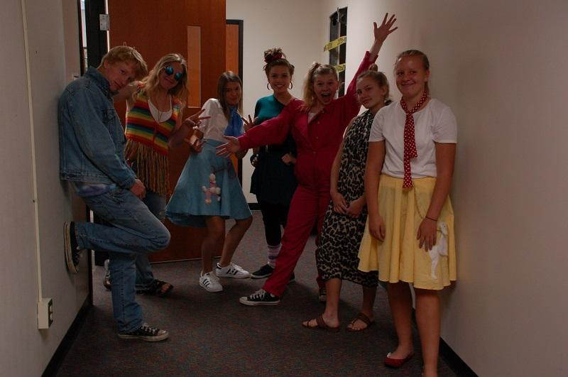 Homecoming – dress-up days