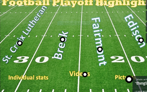 Football playoff pics, stats, and videos