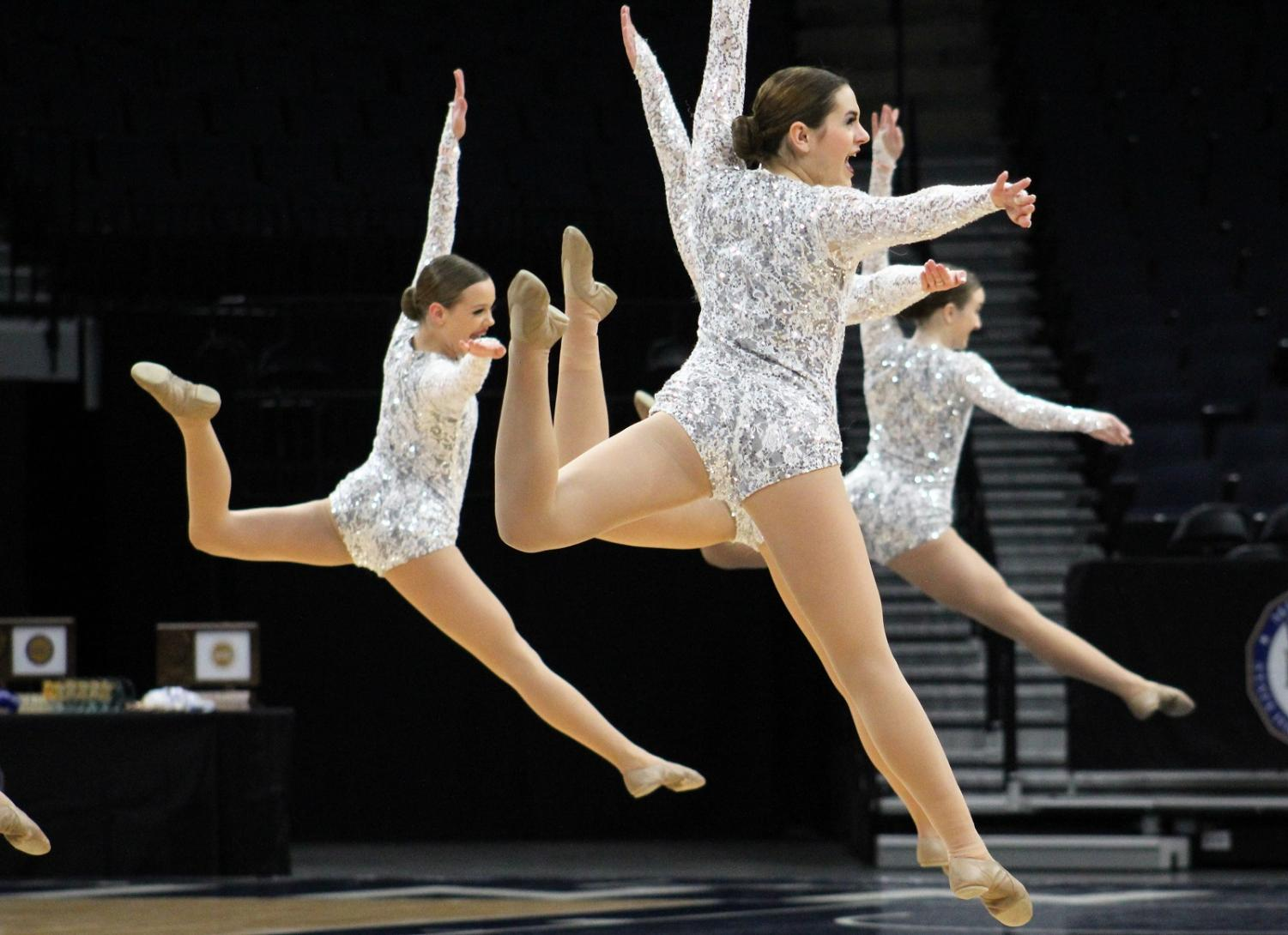 BDT doing a team firebird leap