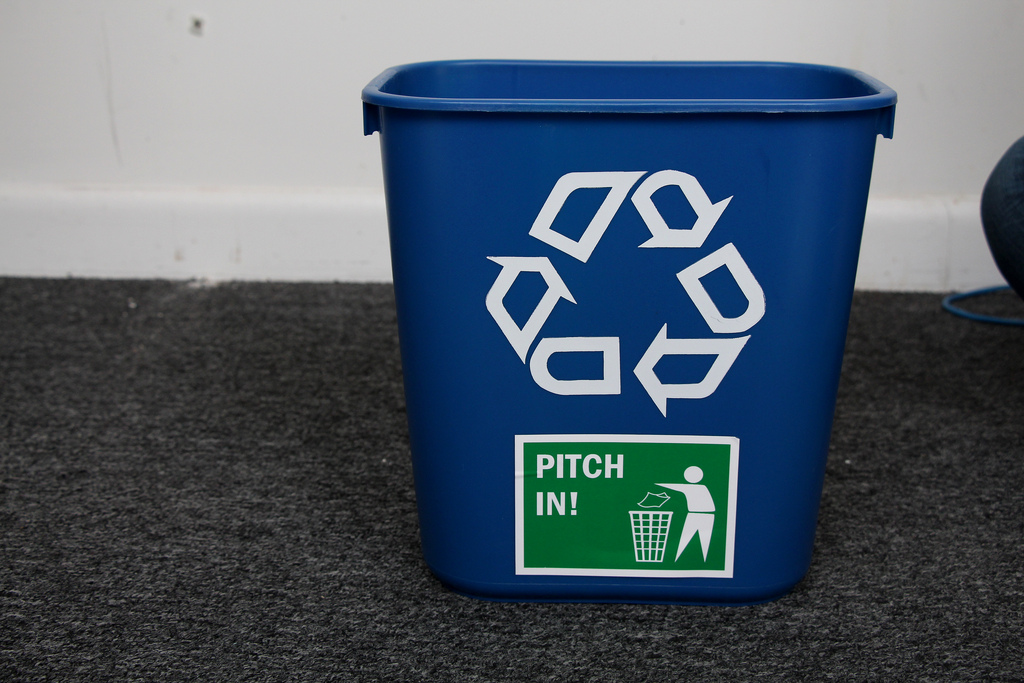 Promoting recycling is something that the Green Club strives for.