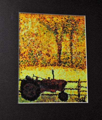 Tractor   by Madalynn Lundell