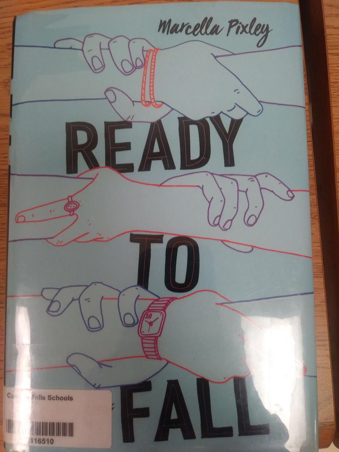 The book Ready to Fall is in the Cannon Falls high school IMC.