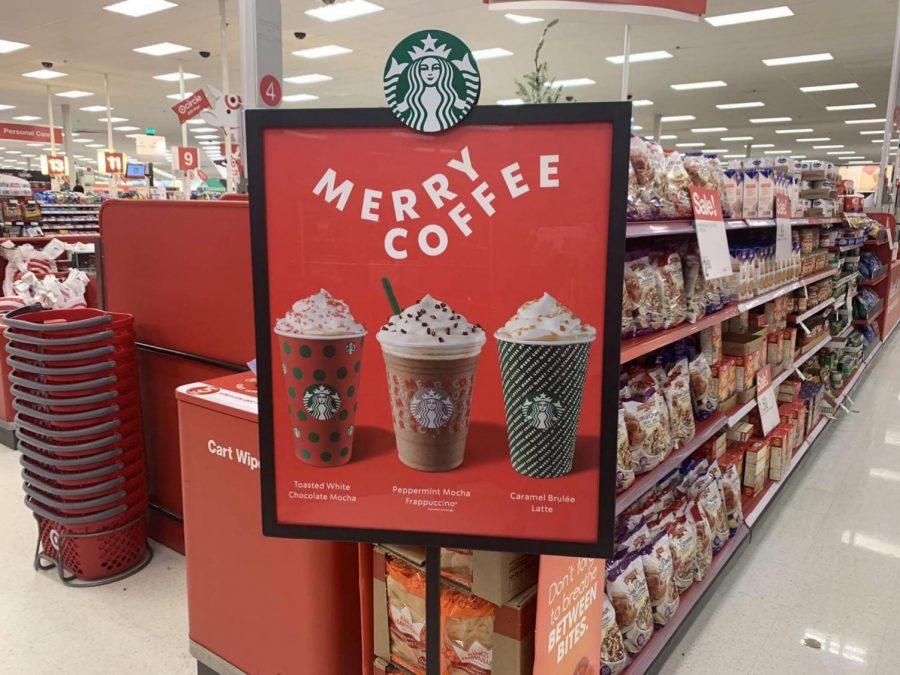 Starbucks+seasonal+drinks+are+providing+a+taste+of+the+holidays.+