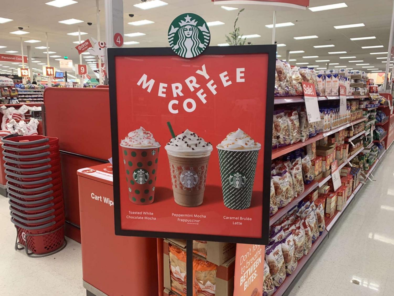 Starbucks seasonal drinks are providing a taste of the holidays.