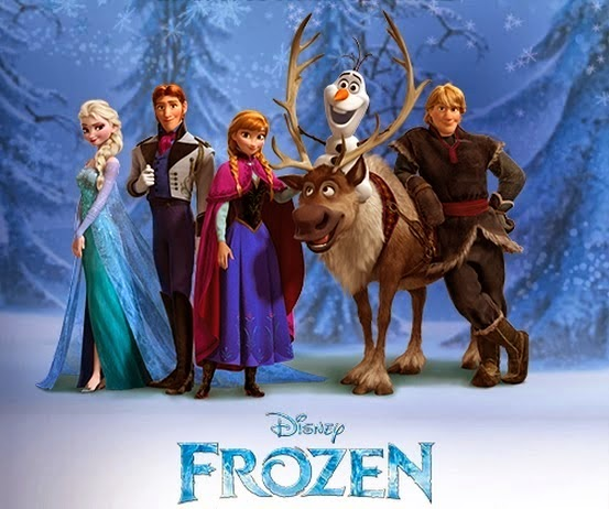 Movie review for Disney's Frozen
