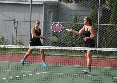 Bethany and McKenna team up for a return of serve