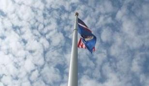 Faithful to the flag