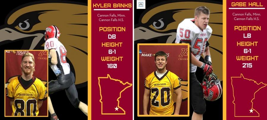 Hall, Banks in press release photos