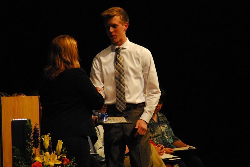 Bjorn Pearson accepts Gemini scholarship