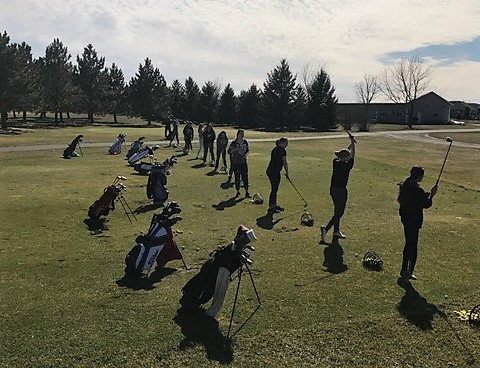 The boys' and girls' golf teams tee it up for another season