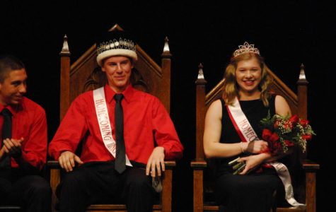 Queen Grace Hall and King Grant Schlichting