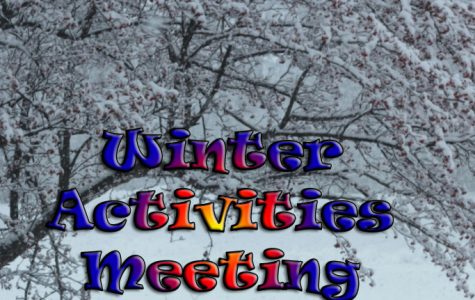 Winter activities meeting