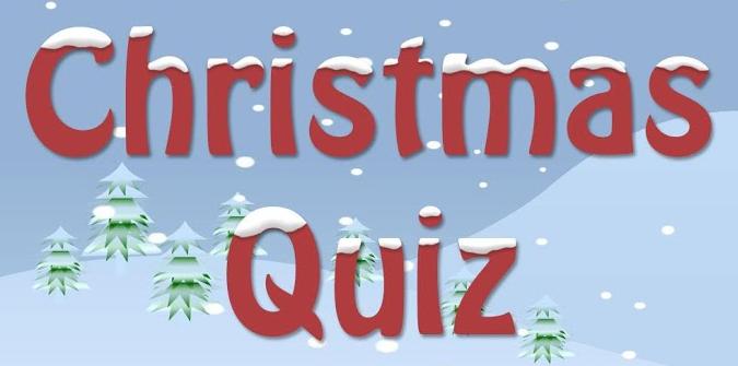 A Christmas quiz