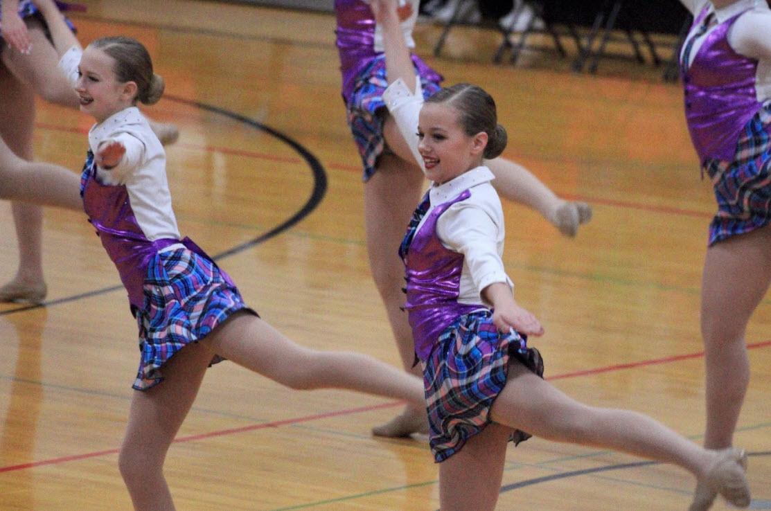 JV dancers compete in the CF Invitational