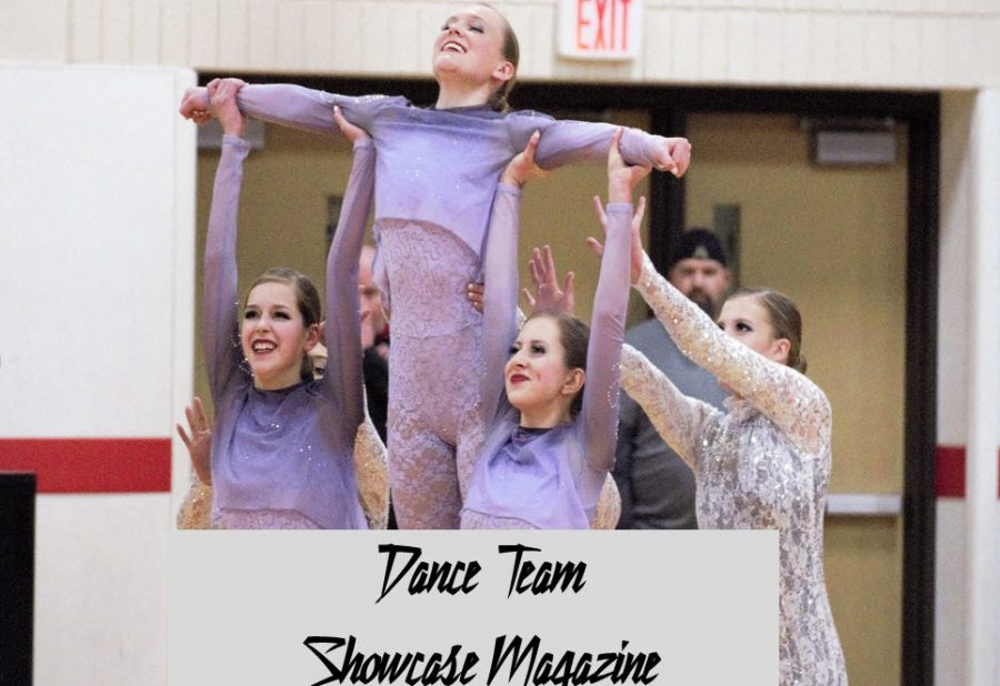 Dance Team members perform at the Cannon Falls Invite