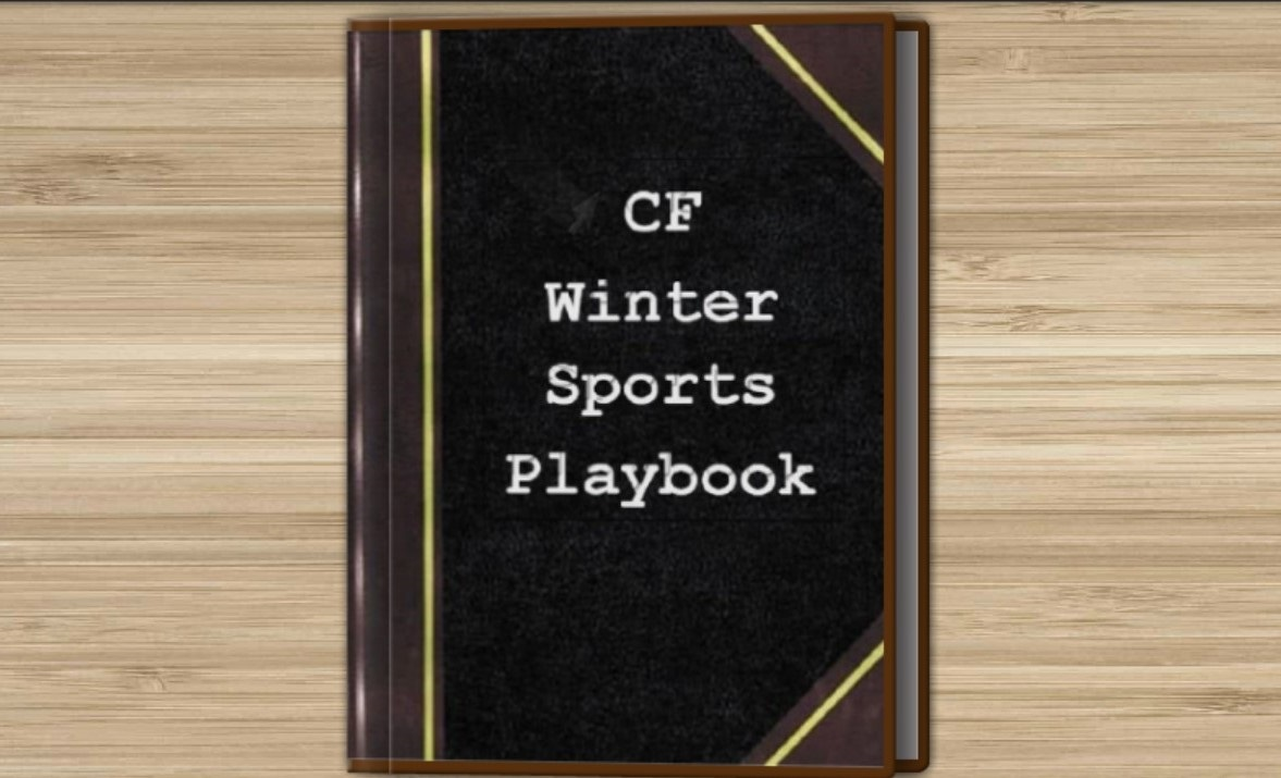 The winter sports book includes pictures statistics and videos, closing out the sports season