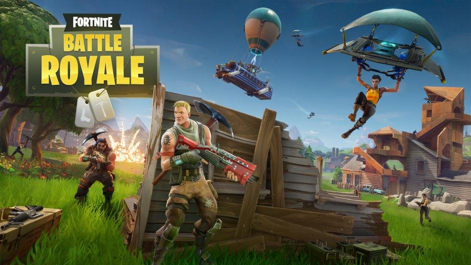Fortnite: Battle Royale press release image