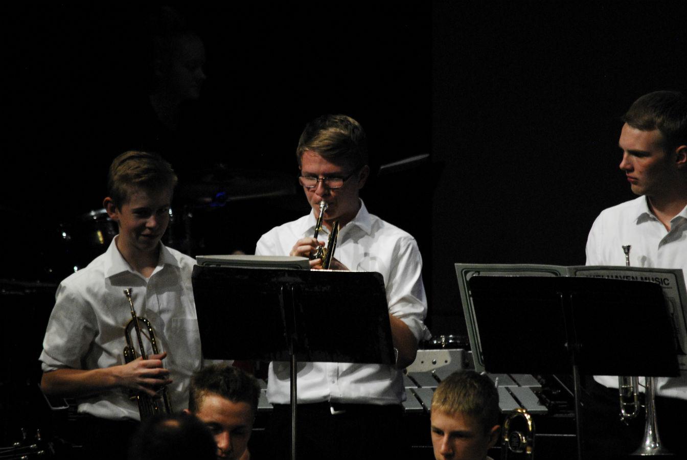 A trumpet trio