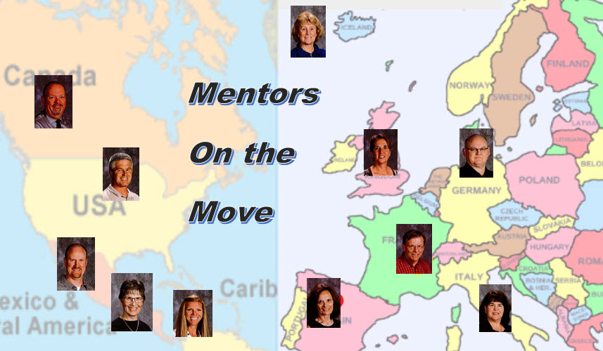Mentors on the move