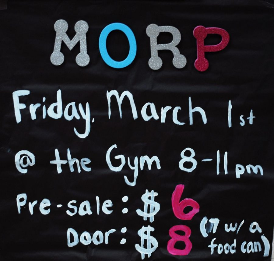 The MORP dance kicks off the month of March