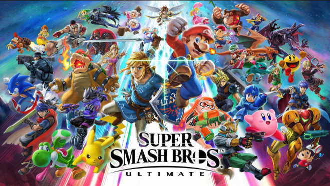 A+preview+of+just+a+few+of+the+characters+in+the+Nintendo+video+game.
