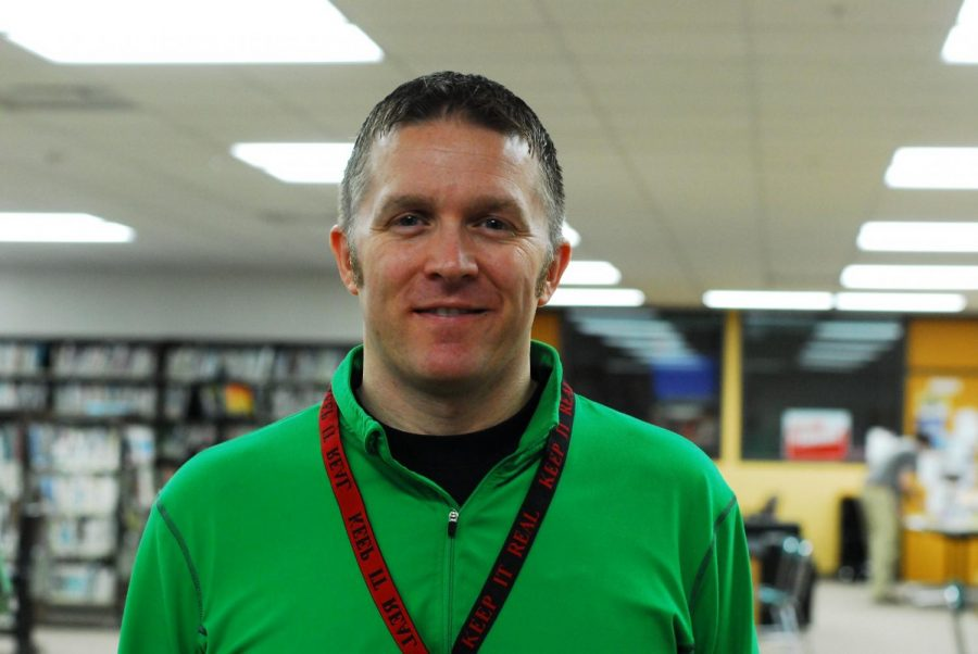 Mr. Nelson is the new Dean of Students at Cannon Falls high school.