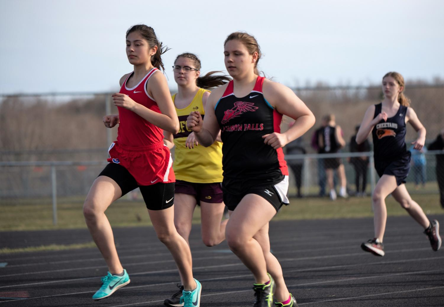 Captain Sophie Epps is racing towards the finish line