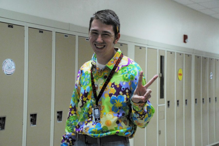 Mr.+McGrath+was+feeling+groovy+on+Throwback+Thursday+during+homecoming+week.
