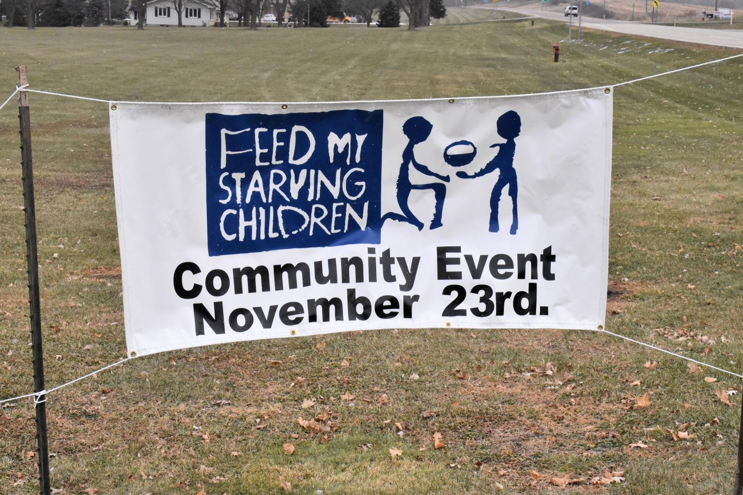 Feed My Starving Children will be hosting their annual packing event on November 23.
