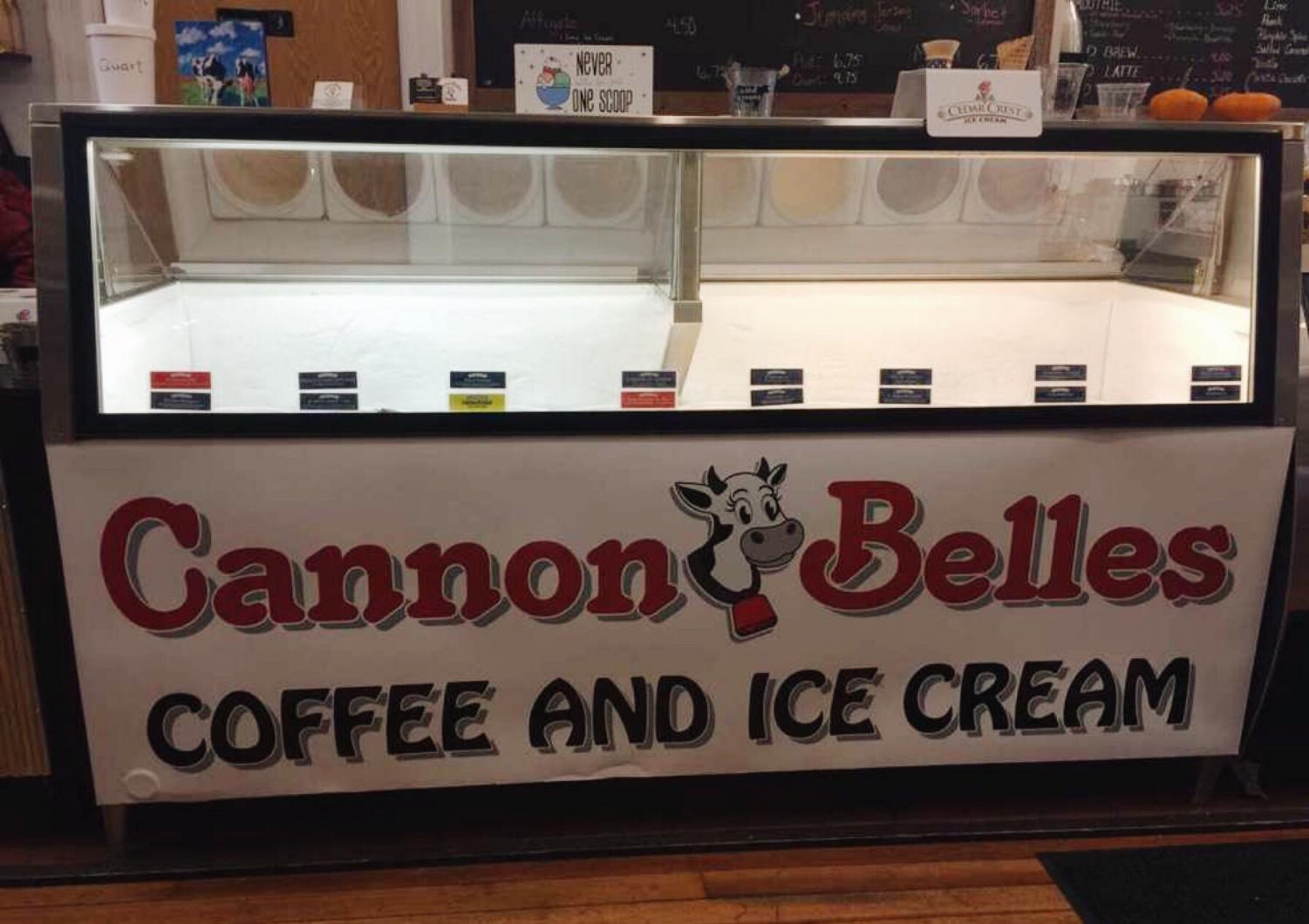 From plain vanilla to baked apple pie, Cannon Belles has a variety of Cedar Crest ice cream choices.