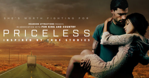 Priceless is a movie inspired by a true story.
