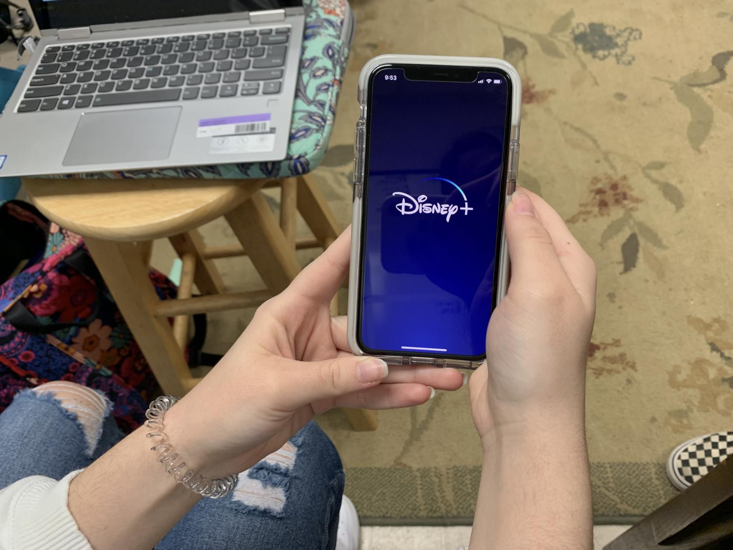 Disney+ can be accessed from mobile devices.