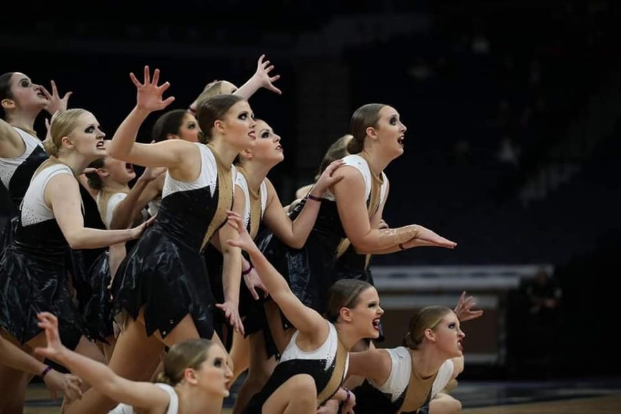 The final pose for BDT captures the spooky theme throughout the high intensity dance.