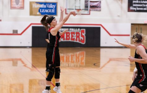 Bella Davisson, a junior, is only one of the girls who helped the Bombers have a successful season.