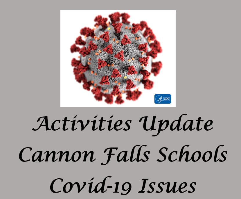 Activities Update  COVID-19 (UPDATED 3/20 11:30 AM)