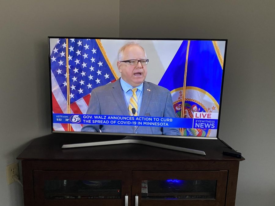 New executive orders have been put in place by Governor Walz.