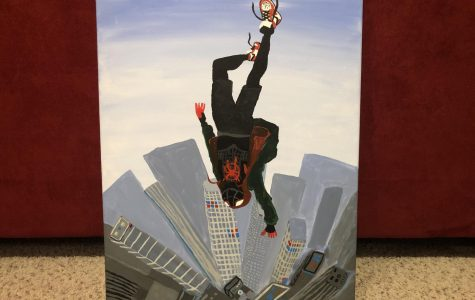 Although this painting of Spider Man is pretty epic, in the super hero world there needs to be more diversity.