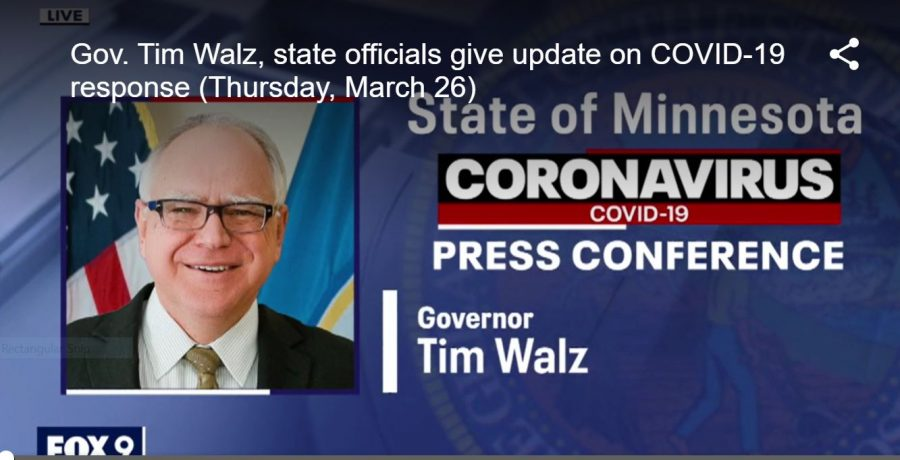 Governor Walz 2 p.m. conferences have become the new normal.