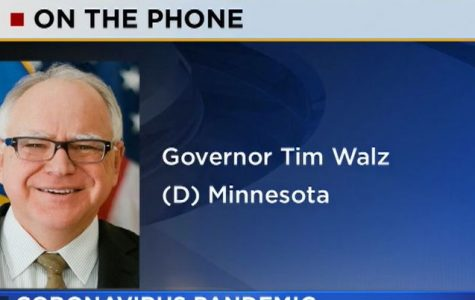 While self quarantining, Walz addressed Minnesotans over the phone again on Tuesday.