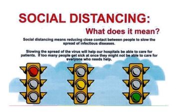 Social distancing how-to