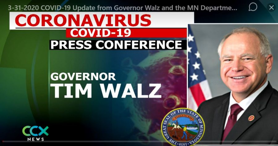Over the phone, Governor Walz and his team have kept Minnesota updated.