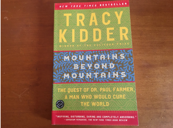 Tracy Kidder's novel is recognized as a New York Times best seller.