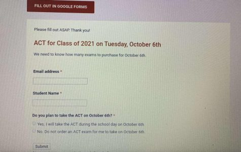 Mrs. Hoffman sent out an exclusive google form to the senior class.