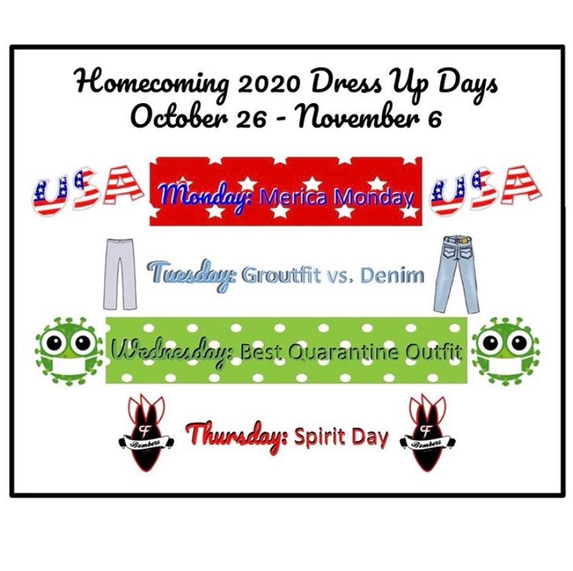 """Many of this year's dress up days are popular repeats from the past, but new to the crew is """"Best Quarantine Outfit."""""""