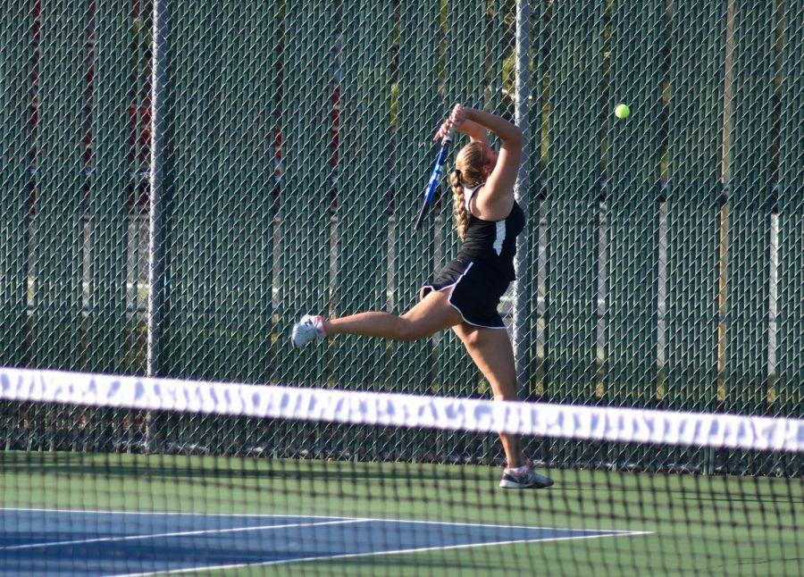 The CF Girls Tennis Team served up some major competition this season.