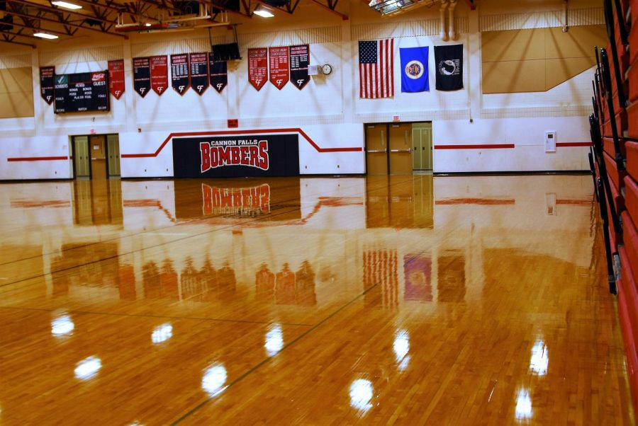 CFHS Gymnasium will soon be used for winter sports