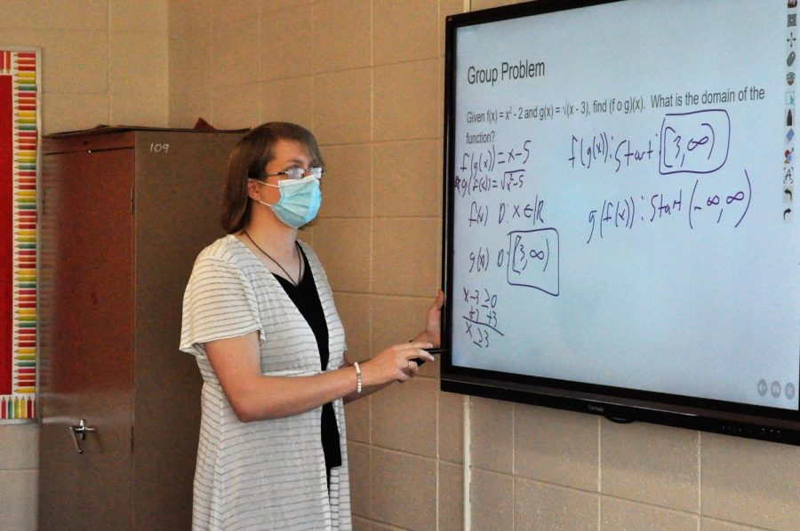 SJ, a new math teacher at CFHS, is getting the swing of things in this small town.