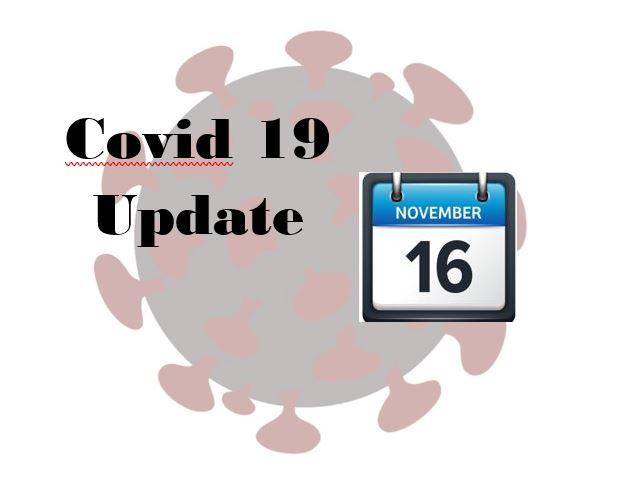Nov. 16 Covid update