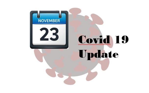 Nov. 23 Covid update